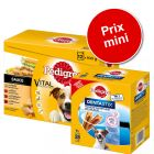Sachet Multipack Pedigree 96 x 100 g + Dentastix Daily Oral Care 28 bâtonnet à prix mini !